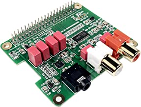 Raspberry Pi HiFi DAC HAT PCM5122 HiFi DAC Audio Card Expansion Board for Raspberry Pi 4 3 B+ Pi Zero W