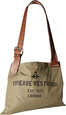 Vivienne Westwood Charlotte Canvas Shopper