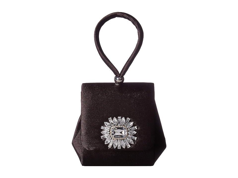 Vintage & Retro Handbags, Purses, Wallets, Bags Jessica McClintock Honey Black Handbags $42.00 AT vintagedancer.com