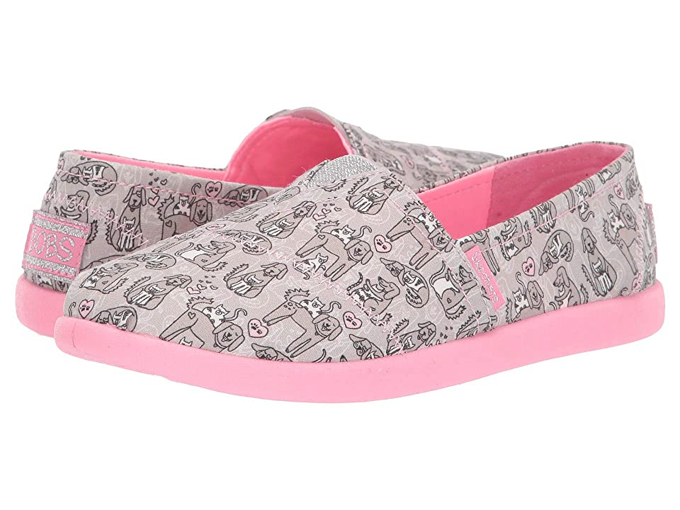 SKECHERS KIDS Solestice 2.0 85268L (Little Kid/Big Kid) (Gray/Pink) Girl