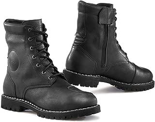 TCX Hero Gore-TEX Waterproof Urban Leather Motorcycle Bike Boots - Black 44