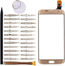 Goodyitou Touch Screen Glass Digitizer Replacement for Samsung Galaxy S7 edge/G935F/G935FD/G935W/G9350(Golden)