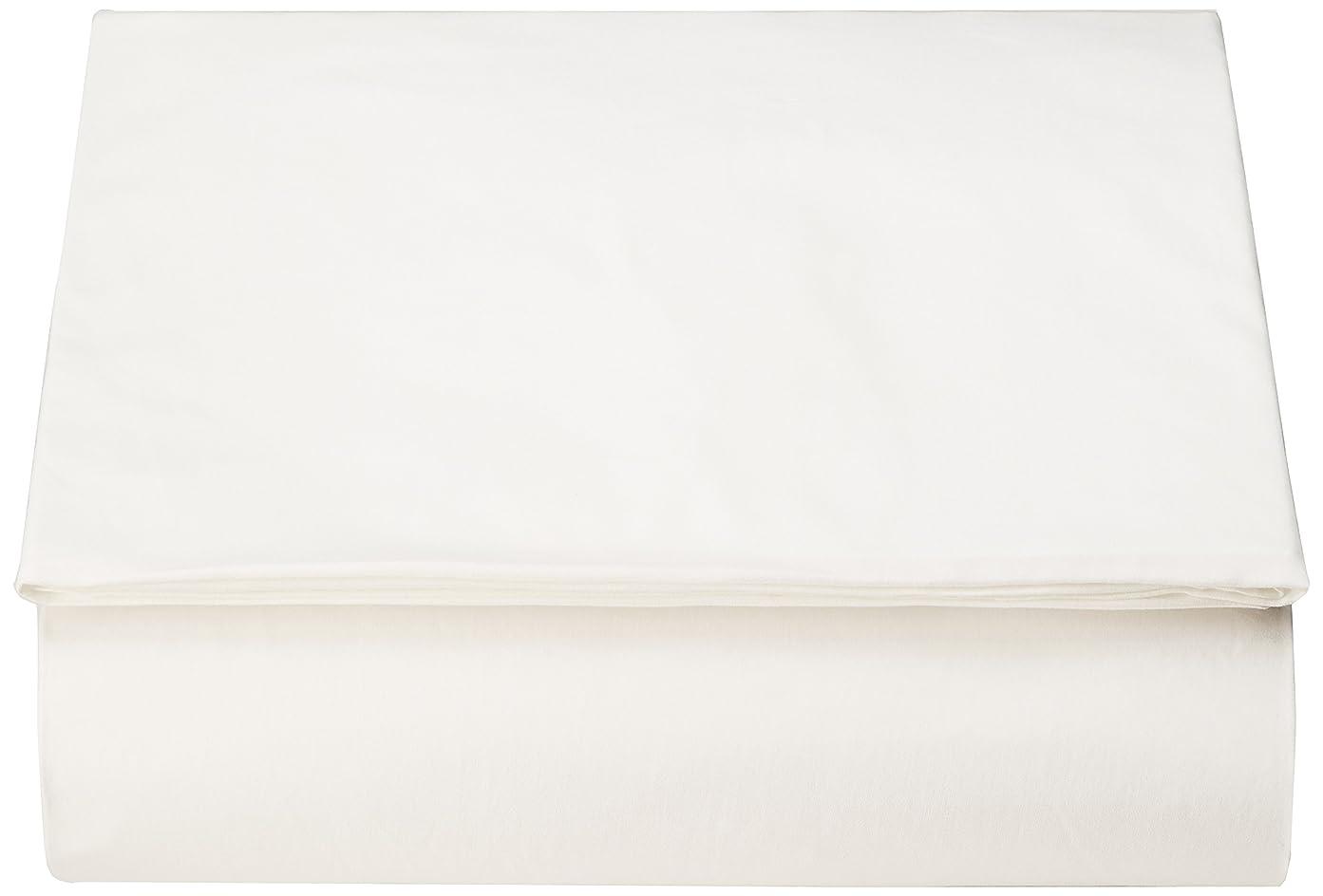 歌韓国語推進西川リビング <24+> ベッド フィッティ パック シーツ ワイド ダブル 155×200×40cm TFP-00 ホワイト 2120-00061