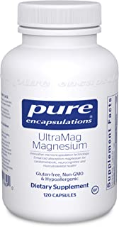 Pure Encapsulations - UltraMag Magnesium - Enhanced Absorption Magnesium for Cardiometabolic, Neurocognitive and Musculosk...
