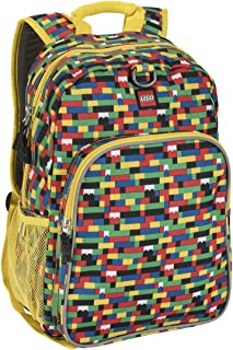 LEGO Unisex Brick Waterfall Heritage Classic Backpack
