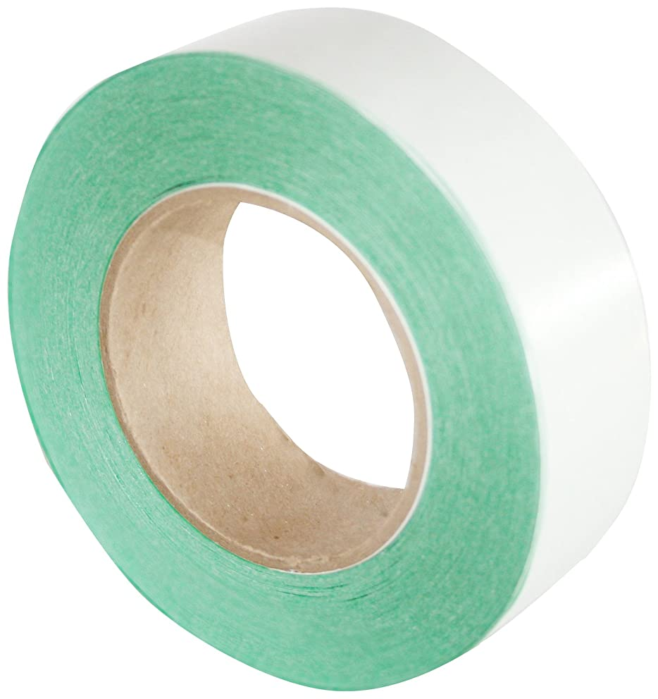 Maxi 909-02 Aqua-Green Repulpable Splicing Tape Double Coated with Adhesive and Repulpable Liner, 60 Yards Length, 2
