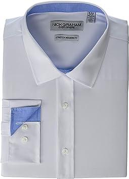 Solid Stretch Dress Shirt