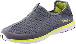 Another Summer Men's Lightweight Breathable Slip-on Sneakers Waterproof Quick Drying Aqua Water Shoes