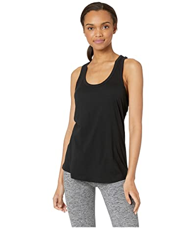 Beyond Yoga All About It Racerback Tank Top (Black) Women