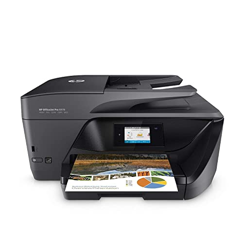 HP OfficeJet Pro 6978 All-in-One Wireless Printer, HP Instant Ink or Amazon Dash replenishment ready (T0F29A)