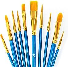 Art Paint Brushes Sets, Multiple Artist Paintbrush Kits Mediums Brushes for Artist Acrylic Aquarelle Watercolor Gouache Oi...