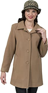 Coat Man Single Breasted Jacket Collar Buttons to Neck Or Opens to Revere