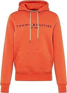 Old School Football Sweat Shirt Homme Orange XX Large