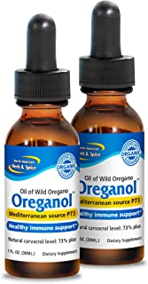 North American Herb & Spice Oreganol P73 (2 Pack) - 1 fl. oz. - Immune Support, Optimal Health - Unprocessed, Certified Or...