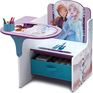 Delta Children Chair Desk with Storage Bin, Disney Frozen II