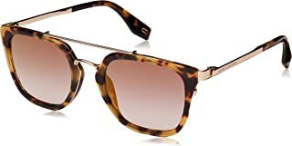 Marc Jacobs Aviator Sunglasses for Unisex - Brown Lens