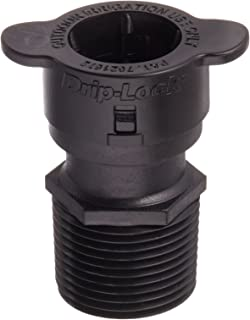 "Orbit 67493 3/4"" Male Pipe Thread x 1/2"" Drip-Lock Drip Irrigation Adapter"