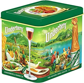 Underberg Limited Edition 2019 Annual Collector Gift Tin, Contains 12 Bottles, 0.67 Fluid Ounces Each