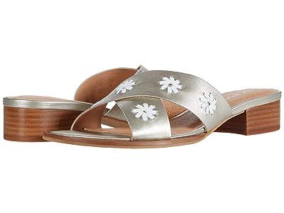 Jack Rogers Rondelle City Sandal (Platinum) Women