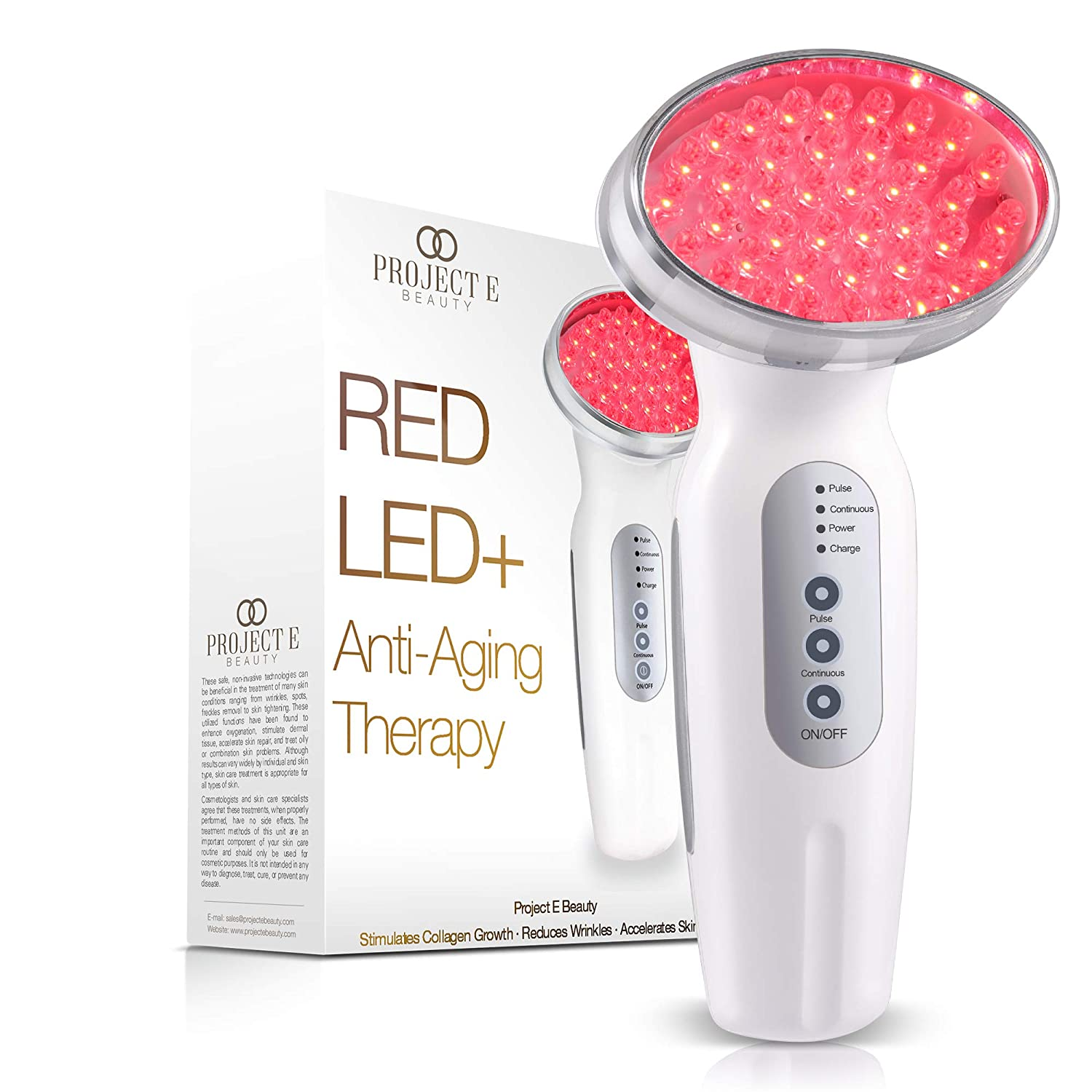Project E Beauty RED Light Wireless Col Photon Therapy SALENEW very popular It is very popular Machine
