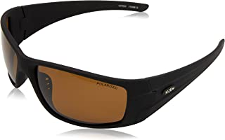 FISH Men's Hitch 1 Sunglass, Brown Stripe