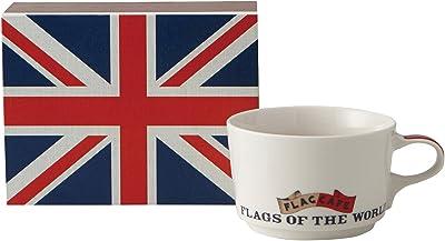 フラッグ カフェ マグカップ (ポストカード付) (化粧箱入) イギリス 1063