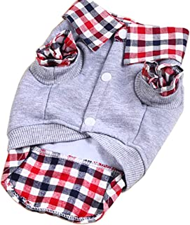 Paño De Perro Abrigo de invierno para mascotas para perro pequeño gato, Pet Sweater T Shirt Puppy Cat Vest Chaleco Ropa para perros Ropa Disfraz Mujer Hombre