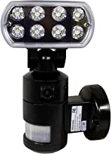 Versonel Night Watcher Pro LED Security Motion Recording Light with WiFi, Black
