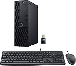 Dell Optiplex 3060 SFF Desktop PC Bundle with Keyboard, Mouse, Intel i5-8500 3.0GHz 6 Core, 16GB DDR4, 500GB NVMe SSD, WiFi, Win 10 Pro