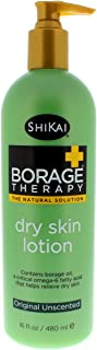 ShiKai - Borage Therapy Dry Skin Lotion, Plant-Based Soothing & Moisturizing Relief For Dry, Irritated & Itchy Skin, Non-G...