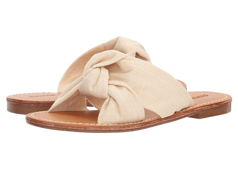 Soludos Knotted Slide Sandal (Blush) Women