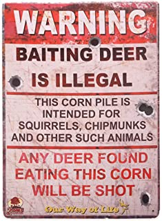 hunting camp signs
