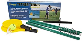 Champion Sports TTGAME Tetherball Tennis: Swingball Outdoor Lawn Game for Kids, Adults, and Families - Backyard Tether Kit...