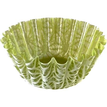 高級おかずカップ 【和紙の器】 オモテワシケース 彩り 麻の葉 Sサイズ 48枚