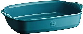 Emile Henry Rectangular Baking Dish, 36 cm x 23 cm, Blue