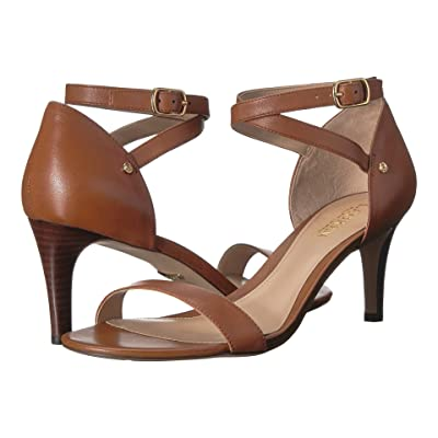 LAUREN Ralph Lauren Glinda (Deep Saddle Tan Super Soft Leather) Women