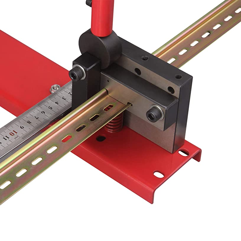 DIN Rail Cutter Tool for Cutting with Guide and Length Stop with punching hole function