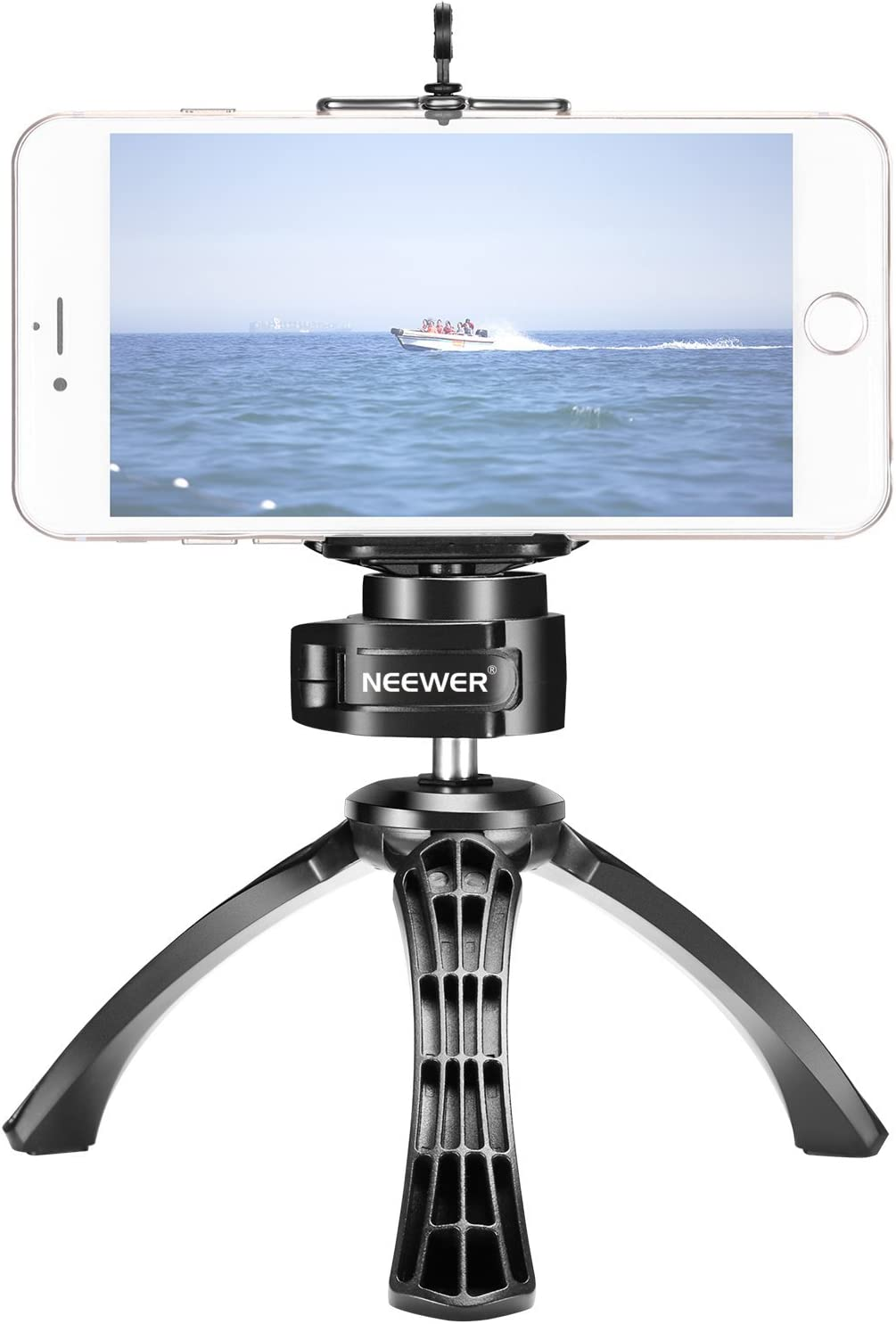 Neewer Flexible Desktop Mini Tripod Easy-to-use with 360 and Louisville-Jefferson County Mall Deg Phone Clamp