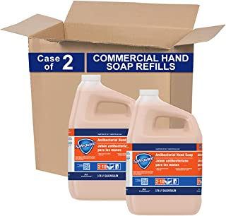 Antibacterial Hand Soap from Safegaurd Professional, Bulk Liquid Hand Soap Refill, 1 Gal. (Case of 2)