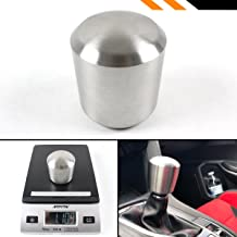 Cuztom Tuning 1LB Premium Cylinder Stainless Steel Manual/Automatic Transmission Heavy Weighted Shifter Gear Shift Knob Selector