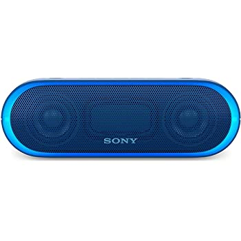 Sony XB20 Portable Wireless Speaker with Bluetooth, Blue