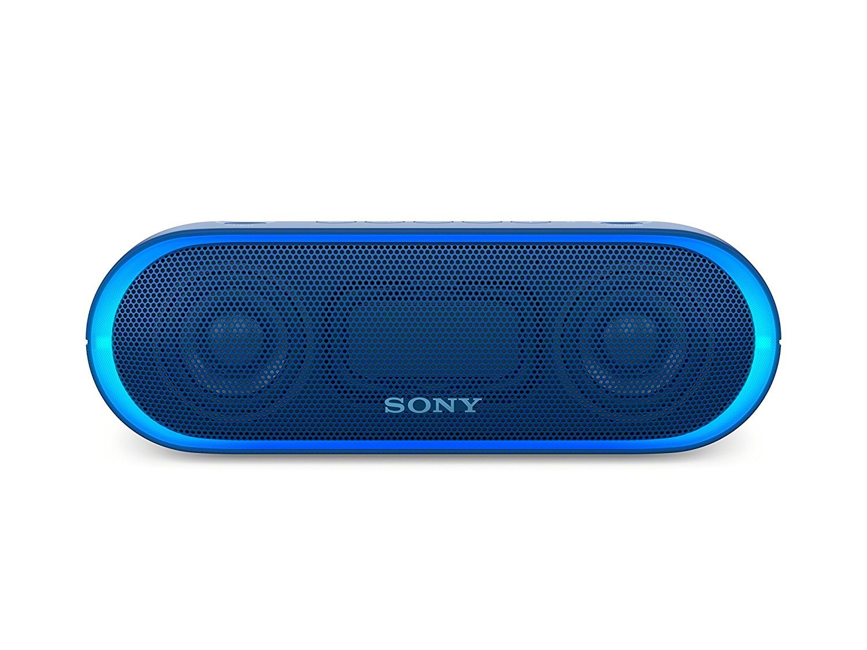 Amazon Com Sony Xb20 Portable Wireless Speaker With Bluetooth Blue Electronics