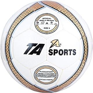 TA Sports 15020270 Football, Beige/Gold