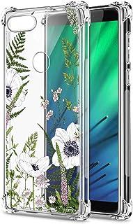 Oihxse Cristal Compatible con Huawei Y6S/Honor 8A/Y6 2019 Funda Transparente TPU Silicona Estuche Airbag Esquinas Anti-Cho...