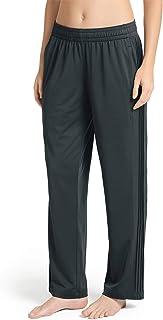 Jockey Women's Activewear Side Pintuck Track Pant, Magnet, XL