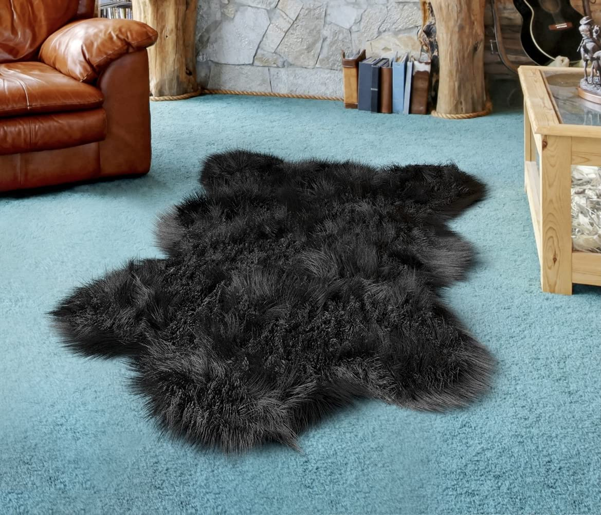 Deluxe Faux Bear Rug for Nursery【 Extra Large F Max 84% OFF New mail order 】. 3ft 6ft x