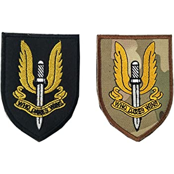 UNITED KINGDOM SPECIAL FORCES SPECIAL AIR SERVICE REGIMENT Hook PVC Patch