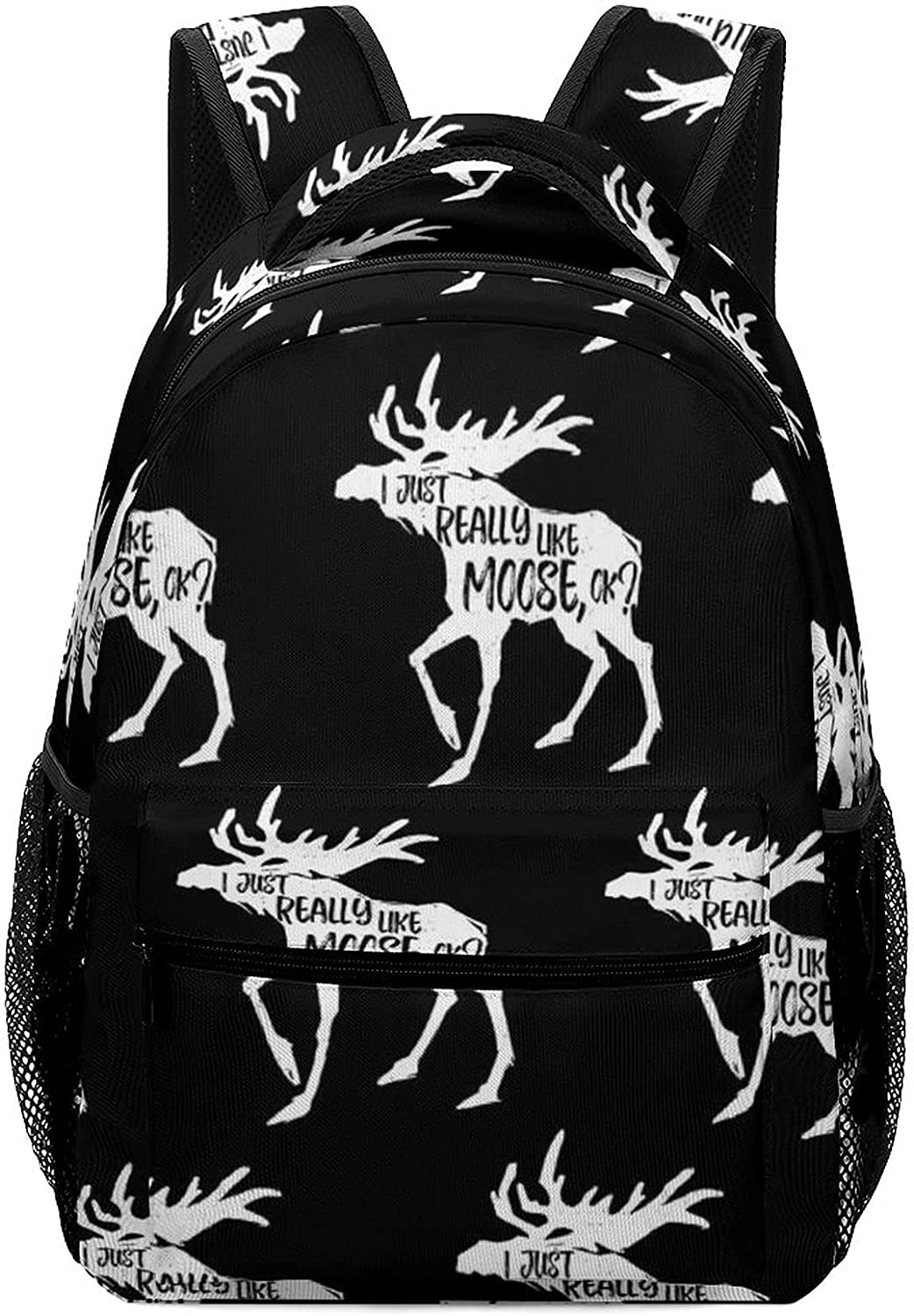 Casual Moose Backpack Adjustable Cheap sale On Sackpack Lightweight Daypack Super beauty product restock quality top