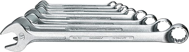 GEDORE 1 B-080 Combination spanner set 8 pcs 8-19 mm