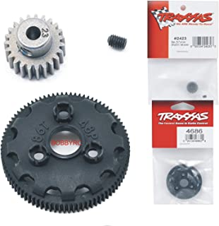 pinion and spur gear setup